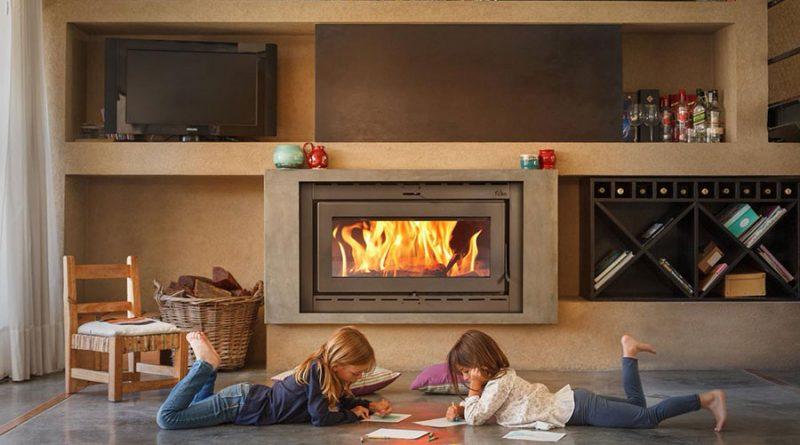 hogares y casetes de chimenea para calefactar