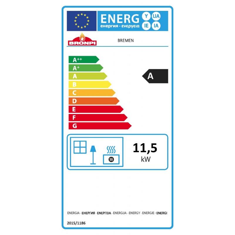 Certificado energético estufa Bremen