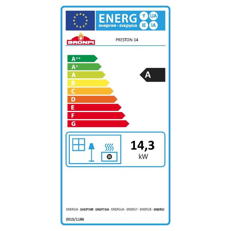 Certificado energetico Preston 14