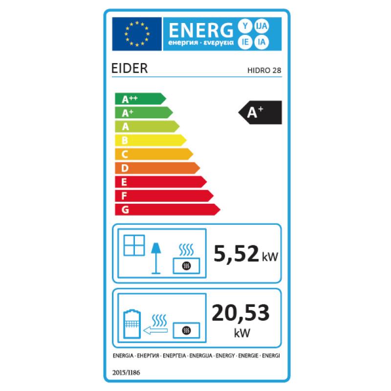 Energ Estufa Pellets HIDRO 28