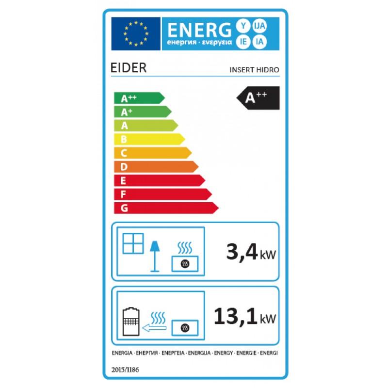 ENERG Estufa Pellets INSERT HIDRO 17