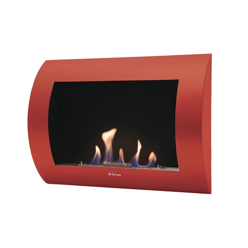 estufa de bioetanol roja