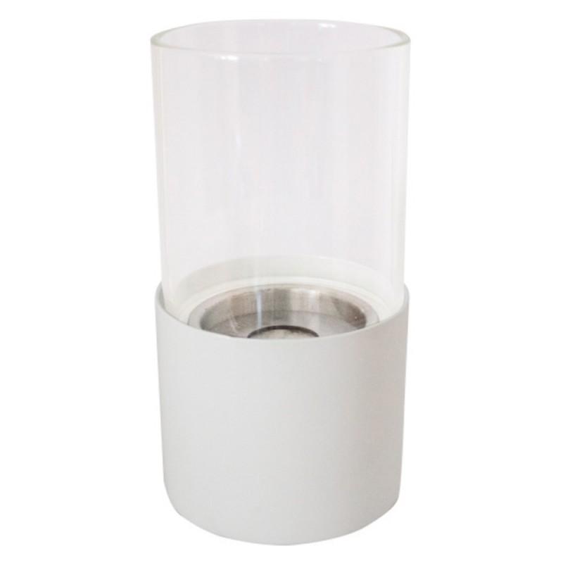 Chimenea de bioetanol Torcello blanco
