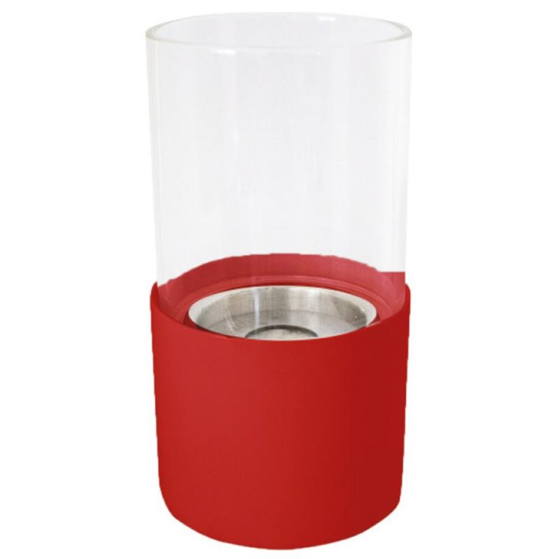 Chimenea de bioetanol Torcello rojo